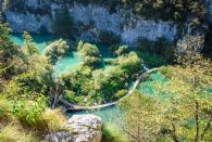 Group TRANSFER from Trogir/Split to Zagreb with Plitvice lakes tour