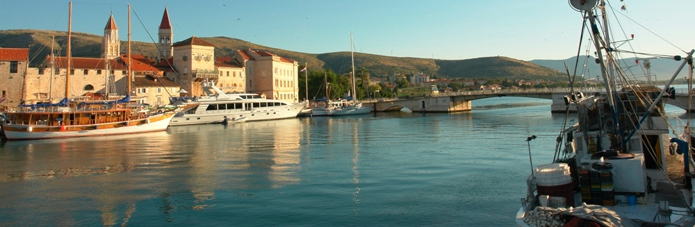Trogir bridge to island Ciovo